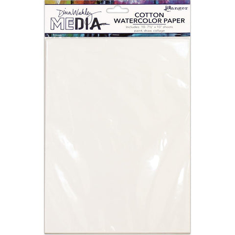 Dina Wakley Media Cotton Watercolour Paper Pack