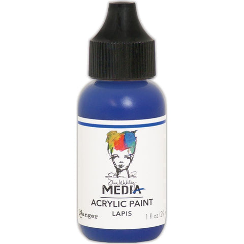 Dina Wakley Media Heavy Body Acrylic Paint 1oz - Lapis