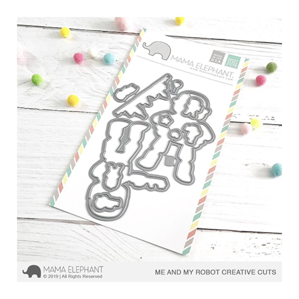 Mama Elephant - Creative Cuts Dies - Me and My Robot