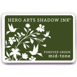 Hero Arts Midtone Shadow Ink Pad - Forever Green