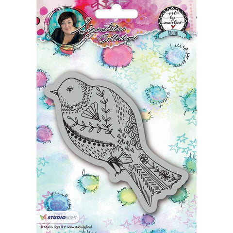 Art By Marlene 2.0 Animals Cling Stamp - Bird