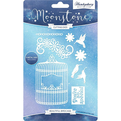 Hunkydory Moonstone Dies - Beautiful Birdcage