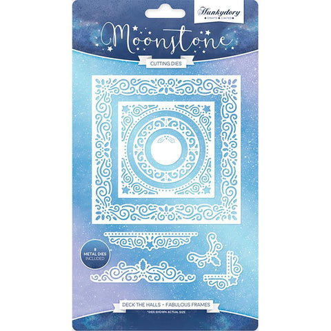 Hunkydory Moonstone Dies - Deck The Halls Fabulous Frames
