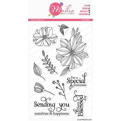 Mudra Stamps - Simply Florals