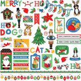 PhotoPlay Muttcracker Stickers 12x12 inches - Elements