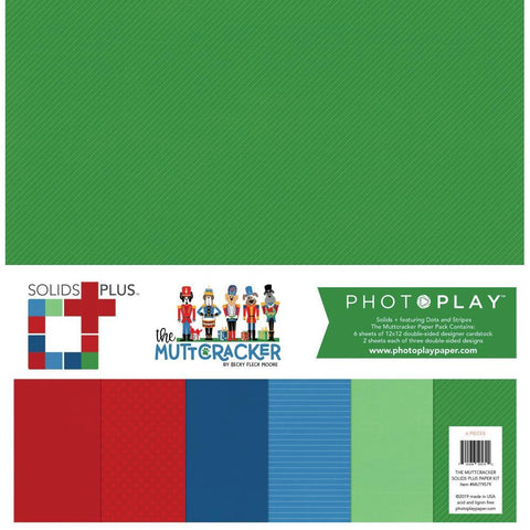 PhotoPlay Collection Pack 12x12 inch - Solids Plus - Muttcracker