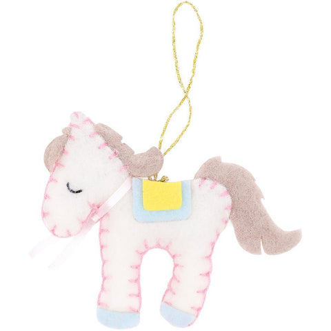 Fabric Editions Needle Creations Felt Ornament Kit - Pony
