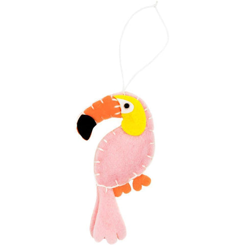 Fabric Editions Needle Creations Felt Ornament Kit - Toucan