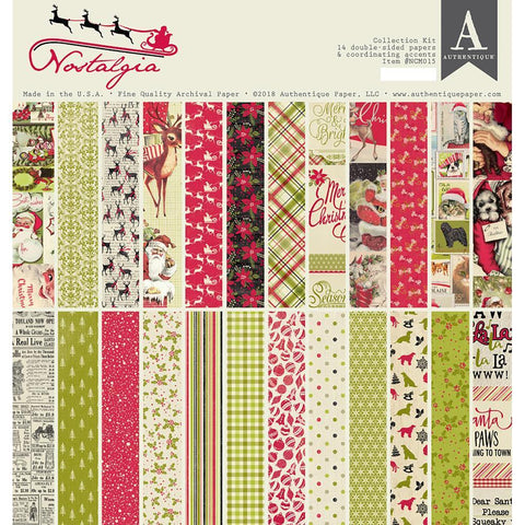 Authentique Collection Kit 12x12 inch - Nostalgia