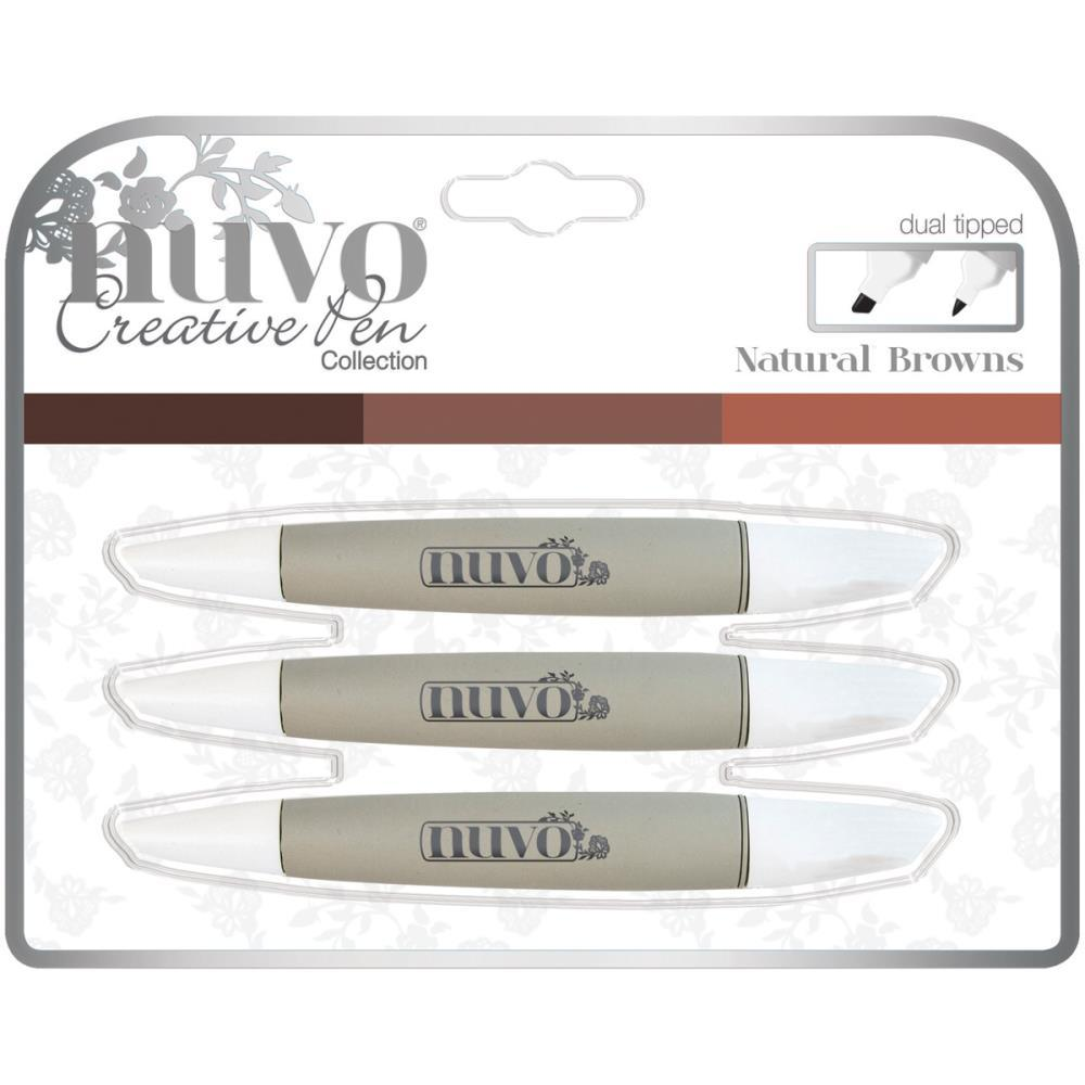 Nuvo Creative Pen Collection - Natural Browns
