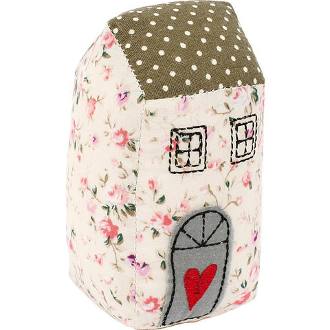 Fabric Editions Needle Creations Pincushion Kit - House Heart