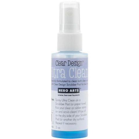 Hero Arts Clear Design - Ultra Clean Stamp Cleaner Spray