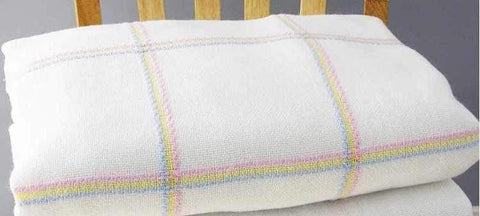 Charles Craft Nursery Time Afghan 14 Count 38x38 inch - Rainbow