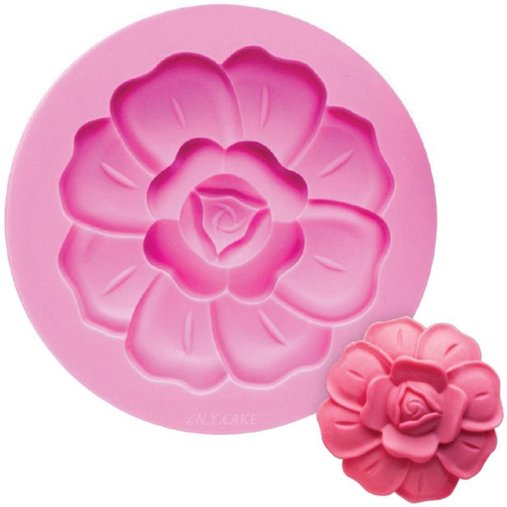 NY Cake Pink Silicone Mold - High Fashion Rose