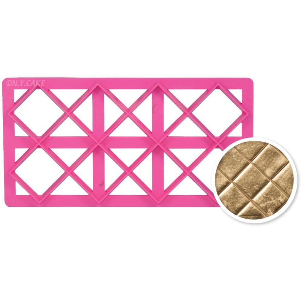 NY Cake Quilted Embosser - Pink