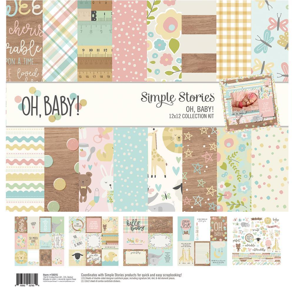 Simple Stories - Collection Kit 12x12 inch - Oh Baby!