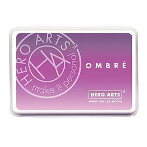 Hero Arts Ombre Ink Pad Lilac To Grape
