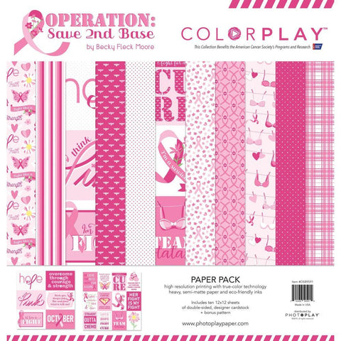 ColorPlay Collection Pack 12x12 inch - Operation Save 2nd Base