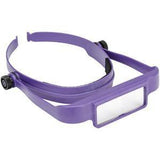 Optisight Magnifying Visor Deep Purple