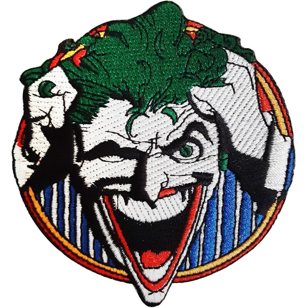 C&D Visionary DC Comics Patch - Joker Laughing