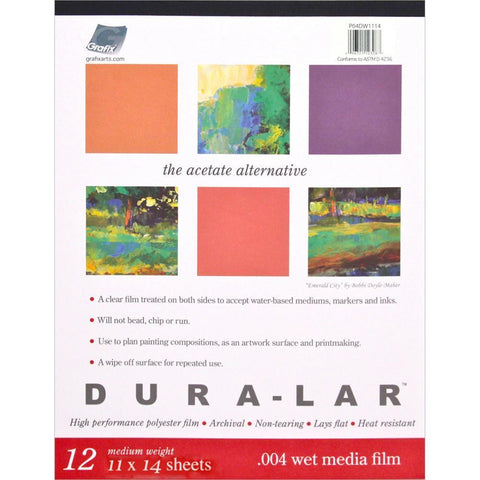 Grafix Duralar Clear .004 - Wet Media Paper Pad