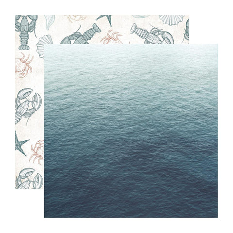 Kaisercraft - D/Sided Cardstock 12in x 12in 150 Gsm - Oceanic