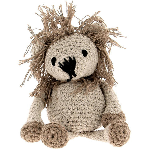 Hoooked - Lion Leroy Yarn Kit with Eco Brabante Yarn - Beige & Taupe