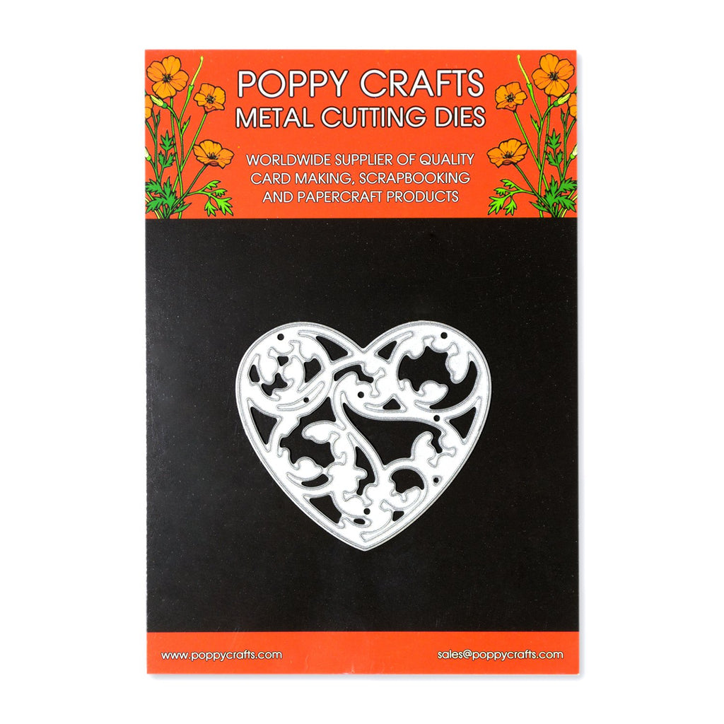 Poppy Crafts Metal Cutting Dies - Sweetheart