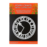 Poppy Crafts Metal Cutting Dies - Tick Tock