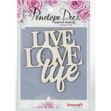 Penelope Dee - Photogenic Paperboard Title - Live Love Life