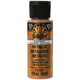 FolkArt Metallic Acrylic Paint 2oz - Solid Bronze