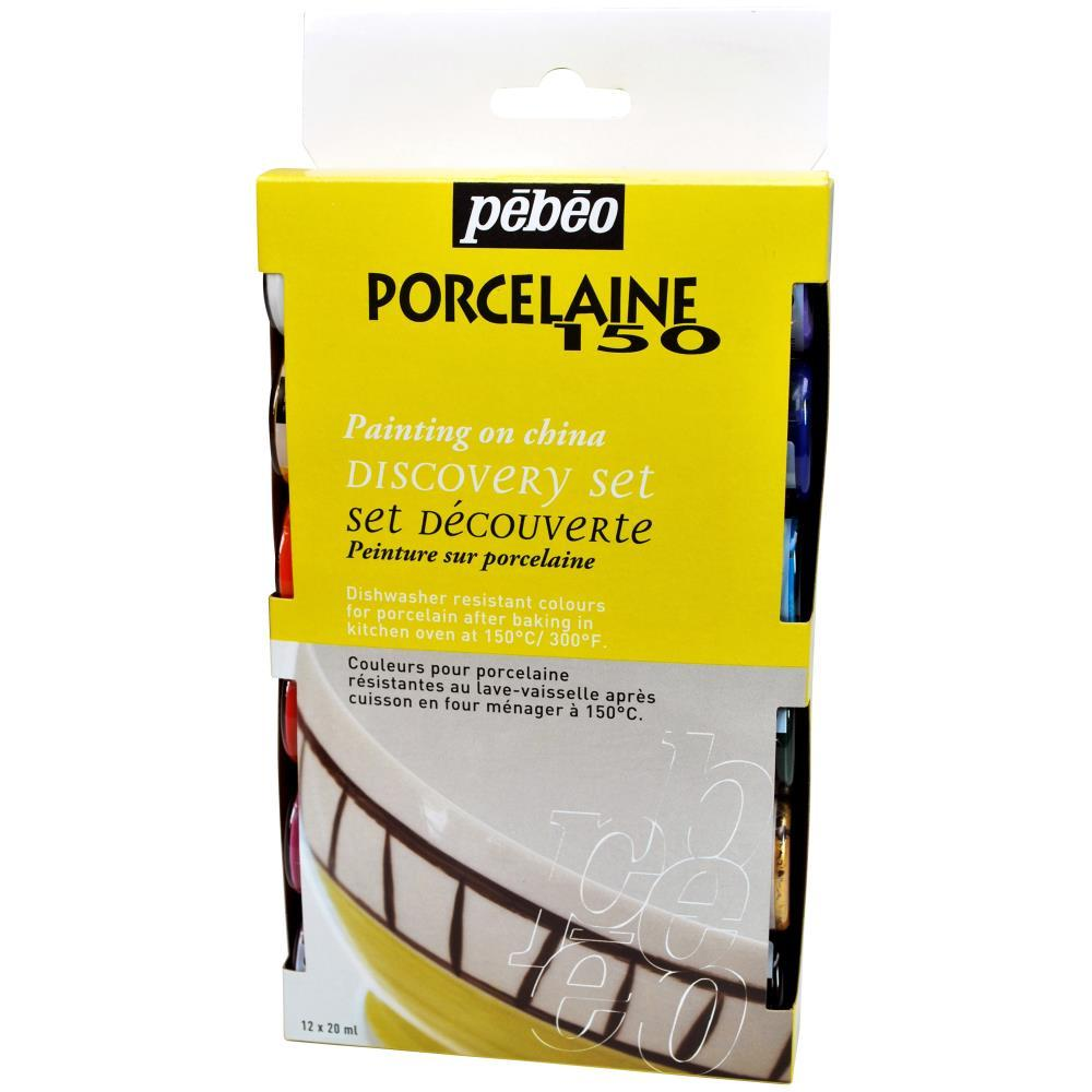Pebeo - Porcelaine 150 China Paint Set 20ml 12 pack - Discovery
