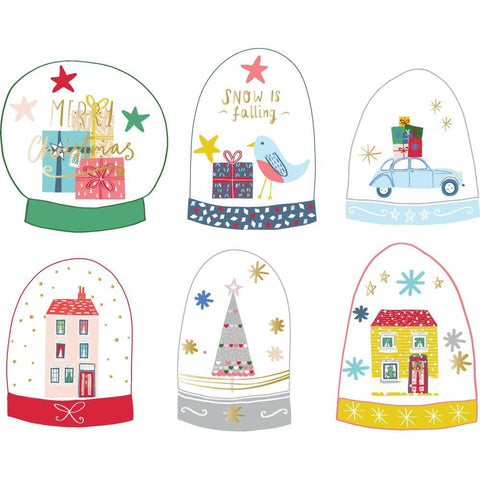 PinkFresh Studio - Cardstock & Acetate Die-Cuts - Snow Globe Elements