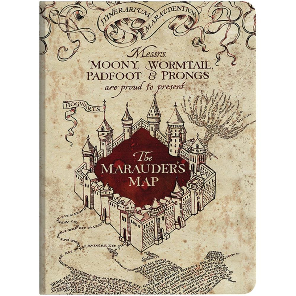 Paper House - Harry Potter - Marauders Map Softcover Journal