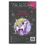 Pink Ink Designs - A5 Clear Stamp - Stag
