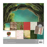 Kaisercraft - Paper Pack 12X12in 12per pack - Enchanted