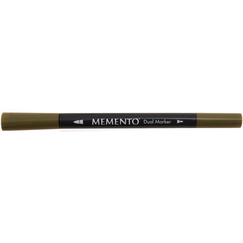 Memento Dual-Tip Marker - Olive Grove