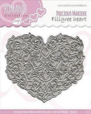 Find It Trading Precious Marieke Romance Die Filigree Heart