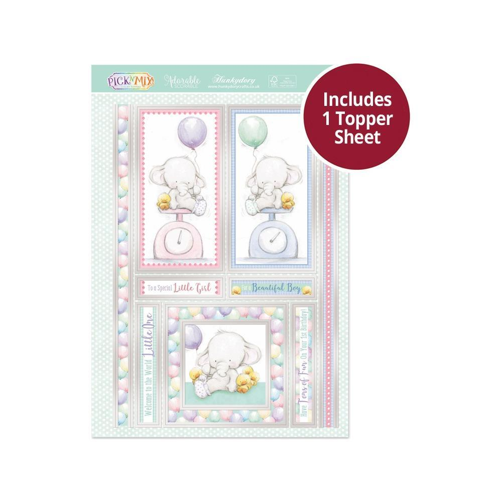 Hunkydory - Pick 'N' Mix - Luxury A4 Topper Set - Tons Of Fun