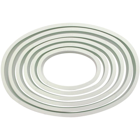 Knightsbridge Global - Fondant Cutter Set 6 pack - Oval