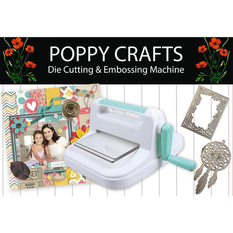 Poppy Crafts - A5 Die cutting and Embossing Machine