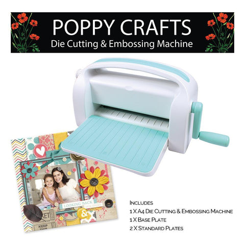 Poppy Crafts - A4 Die cutting and Embossing Machine  - Amazing Value