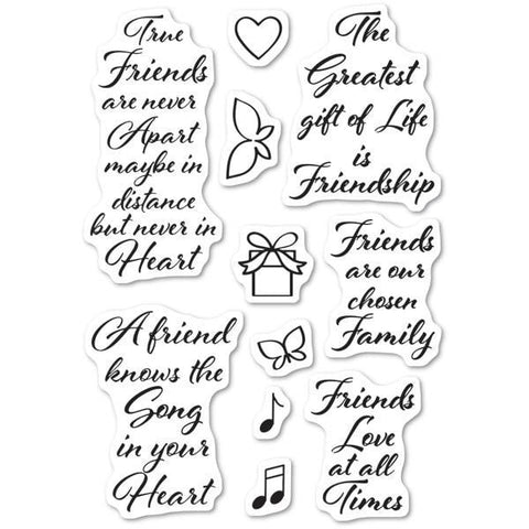PoppyStamps Stamps - Love and Friendship