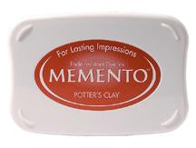 Memento Ink Pad - Potters Clay