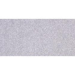 American Crafts 12x12 inch POW Glitter Paper - Solid/Silver