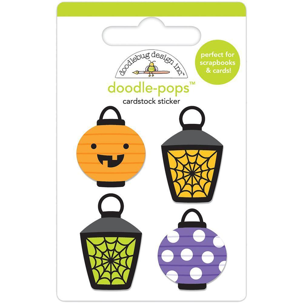 Doodlebug Doodle-Pops 3D Stickers - Party Lights