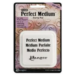 Ranger - Perfect Medium Stamp Pad 3X3 Inch