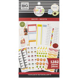 Happy Planner Sticker Value Pack - Recipe, 1282 pack