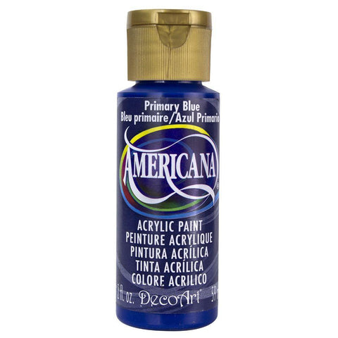 Americana Acrylic Paint 8oz - Primary Blue