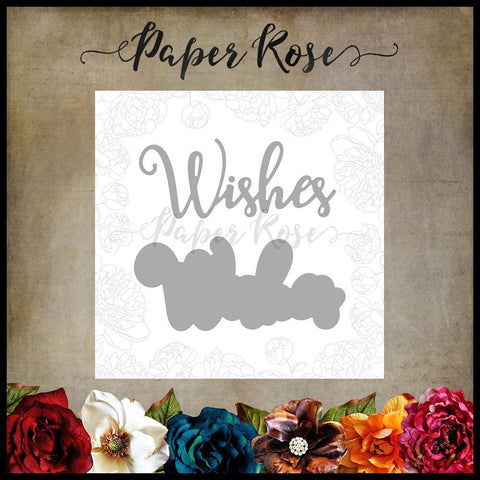 Paper Rose Studio Metal Cutting Die - Wishes Layered - 17349